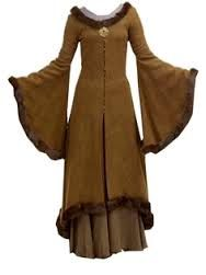 floor length medieval dresses coats - Google Search