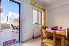 Lili Sea Front Apartment,unique escape by the sea! - Condominiums for Rent in Rethimnon, Crete, Greece Double Bedroom, Crete, Condominium, Open Plan, Glass Door, Apartments, Kitchen Dining, My House, Lily