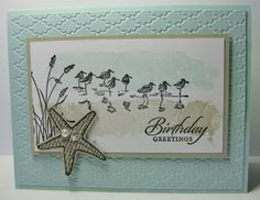 Serene Wetlands Card Linda Bauwin