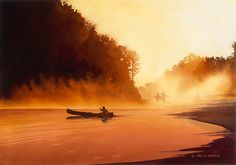 """Rendezvous"" Watercolor by Paul Jackson"