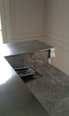 1000 images about zinc counter tops on pinterest zinc for Zinc kitchen countertop