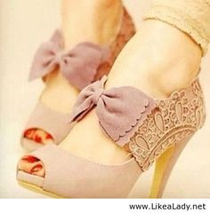 Cute shoes with lace - LikeaLady.net