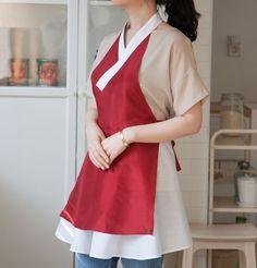 [Seoulbund X Jessica.bleu] Hanbok Apron  http://seoulbund.com/