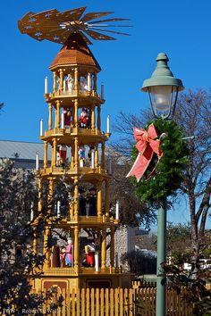 Christmas Pyramid, Fredericksburg, Texas