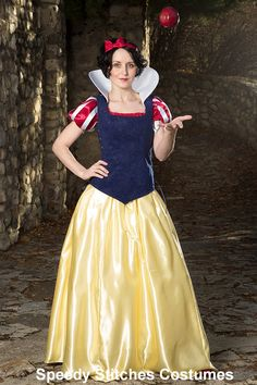Snow White Adult Costume   Adjustable and by SpeedyCostumes, $235.00
