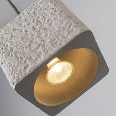 Pendant Lamp Bloc Stoneware