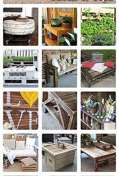28 paletes reaproveitamento de idéias dicas, móveis pintados, pallet, reaproveitamento upcycling
