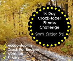 Online Accountability Group starting October 3rd. Join us for fitness, nutrition, accountability and 14 days of crock pot recipes to make your meal planning a snap.