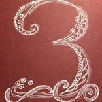 Three Doodles, Donut Tower, Doodle, Zentangle