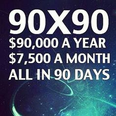 $90k in 90 Days is about to launch! You have all sunday to register... Time to make some changes! Everyone who thought about joining who haven't yet, now is the time. Join the winning team. Please pin and message me for more information. Renzo.gilbert@gmail.com #college #dorm #money #ideas #business #wun #wunlife #wakeupnow #cash #cashflow