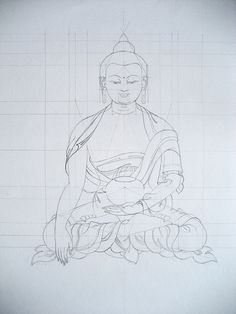 Tibetan Thangka Drawing | Flickr - Photo Sharing!