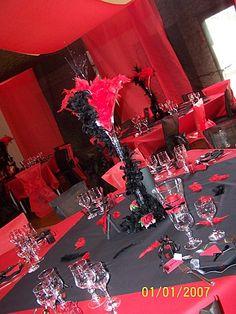Une d coration de table en accord parfait avec le th me cabaret pinterest cabaret parfait - Boulette papier mariage ...