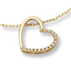 #Bijou Femme en Or jaune Poids total du métal: 2.664 gr Type de pierre : Diamant Longueur du #collier : 42 cm Poids du diamant : 0.09 cts Couleur du diamant : H Pureté du diamant : VS1 (Très légère inclusion)