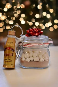 DIY: hot cocoa mix gifts by ashley nicole catherine