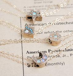 Victorian Slide Necklaces, $300.00 each