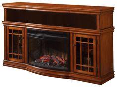 Dimplex Portobello Parchment Electric Fireplace Media Console with ...