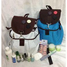 Genial mochila para estetica y manicura diseños juveniles