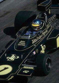 Ronnie !! Lotus 72E  Monaco 1974