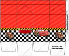 Uau! Veja o que temos para Caixa de Leite Carros Disney Disney Cars, 2nd Birthday Photos, Hot Wheels, Car Themes, Gift Tags, Tropical, Paper Crafts, Clip Art, Gifts