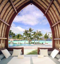 Exterior & More: Summer Goals ☀️🌴🌊 Four Seasons Bora Bora French Polynesia Best Vacations, Vacation Destinations, Vacation Trips, Vacation Spots, Vacation Villas, Beach Hotels, Hotels And Resorts, Luxury Resorts, Bora Bora Hotels