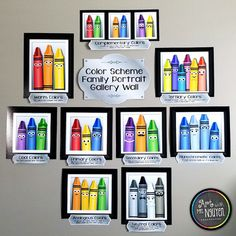 Color Scheme Family Portrait Posters by Art With Mrs Nguyen Art Classroom Decor, Art Classroom Management, Classroom Ideas, Art Classroom Posters, Apple Classroom, Classroom Signs, Classroom Setting, Classroom Inspiration, Music Classroom