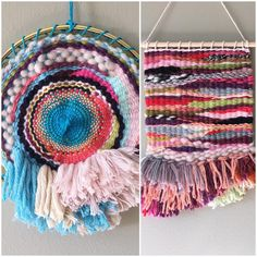 \'Waste not, want not\' (right) and \'Waste not, want not - no.2\' (left) now available in my #etsystore 🙂 #textileart #weaving . . . . . #interiorstyle #yarn #decorate #walldecor #wallart #wallhanging #art #fibreart #fiberart #decorate #weavingaustralia #homestyle #boho #bohostyle #bohodecor #bohemian #bohemianstyle #hippieboho #tapestry #tapestryweaving #etsy #etsyshop #etsyseller #etsyau