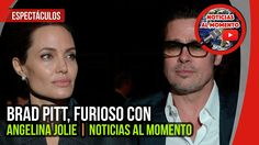 Brad Pitt, furioso con Angelina Jolie 🔴 | Noticias al Momento