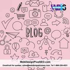 Blogging is an important part of your website and online marketing plan. Content marketing is a must for SEO. If you don't have the time or not sure how to blog properly for SEO purposes, we can create great content for your website.  #website #blogging #blog #contentmarketing