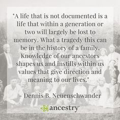 Don't let your family history be lost to time.  #ancestry #genealogy…
