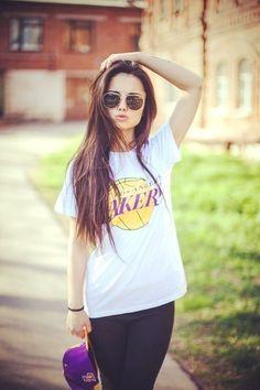 Lakers Long hair don't care hipster indie tumblr girl cute beautiful인터넷카지노 NAPA7.COM- 인터넷카지노