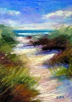 Beach Path -- Karen Margulis