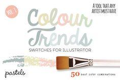 Best Colour Trends Pastel Swatches Vol1