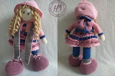 Unique amigurumi doll, best friend, best gift, with changeable clothes :) Amigurumi Doll, Baby Knitting, Best Gifts, Winter Hats, Crochet Hats, Dolls, Trending Outfits, Unique Jewelry, Handmade Gifts