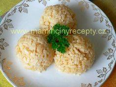 Papriková rýže Side Dishes, Grains, Food, Red Peppers, Eten, Seeds, Meals, Side Dish, Korn