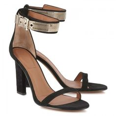 Givenchy Cuffed suede sandals