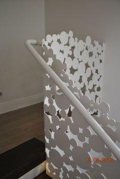 Laser cut balustrades - circles Faber Metal  - Bucharest