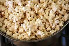 How to Pop Popcorn on the Stove | Recipe Girl