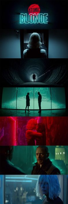 Atomic Blonde Action movie that i wanted to watch twice in cinema. The color and my slight obsession for neon light maybe is the reason. Cinematic Photography, Film Photography, Film Composition, Cinema Colours, Cinematic Lighting, Best Cinematography, Movie Shots, Film Inspiration, Film Serie