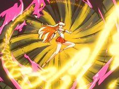 Sailor Venus attack in ep 124
