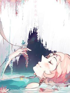 Sempre que eu vejo essa imagem eu preciso dizer: essa arte é linda!!! Pearl by KyouKaraa.deviantart.com on @DeviantArt