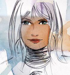 Fashion illustration Sylvia Baldeva®
