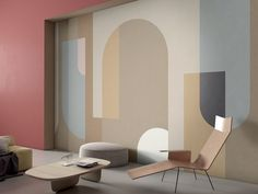 Glamora designs refined bespoke wallpaper and contemporary wall coverings made in Italy for interior decoration Bedroom Wall, Bedroom Decor, Wall Decor, Casa Top, Woman Bedroom, Female Bedroom, Interior Decorating, Interior Design, Decorating Ideas