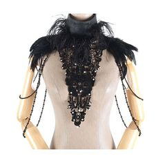Col penas pretas   Crazyinlove Portugal Black Feather Dress, Black Feathers, Festival Costumes, Festival Outfits, Black Costume, Steampunk Cosplay, Medieval Costume, Body Adornment, Feather Jewelry