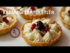 Kremalı Tartoletler | Tart Tarifleri | Semirayın Lezzet Gemisi - YouTube