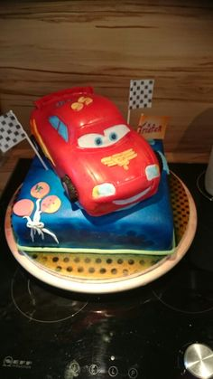 Disney cars torte