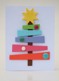 Nápady Na Vánoční Přáníčka - Yahoo Image Search Results Christmas Makes, Christmas Art, Christmas Decorations, Autumn Art, Xmas Cards, Paper Art, Art For Kids, Diy And Crafts, Crafty
