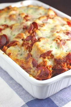 Easy Pizza Pasta Bake   RecipeLion.com