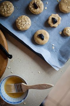 Brown Sugar Oat Scones