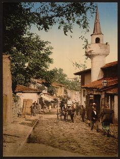 Ahmediye, Scutari, Constantinople, Turkey. Between 1890 and 1900