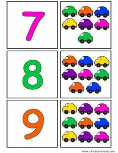 Back To School Self Correcting Number Puzzles Preschool Learning Activities, Preschool Lessons, Kindergarten Worksheets, Teaching Math, Preschool Activities, Kids Learning, Counting For Kids, Math For Kids, Sudoku